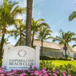 Gasparilla Inn Beach Club Sign