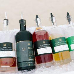 Gasparilla BBQ Liquor Bottles