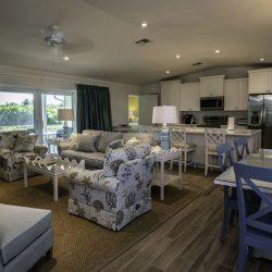 Gasparilla Grey Living Room Alternate View